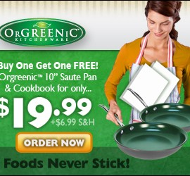 Orgreenic Cookware Set