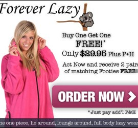 Forever Lazy Adult Onesie