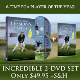 Tom Watson's Lessons of a Lifetime DVD
